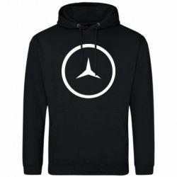Мужская толстовка Mercedes new logo