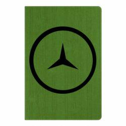 Блокнот А5 Mercedes new logo