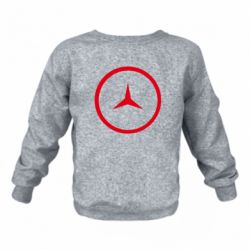 Детский реглан (свитшот) Mercedes new logo