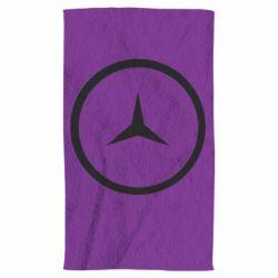 Полотенце Mercedes new logo
