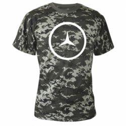 Камуфляжная футболка Mercedes new logo