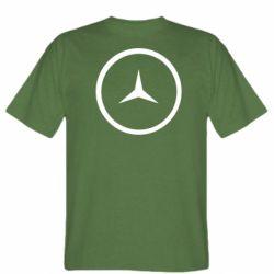 Мужская футболка Mercedes new logo