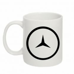 Кружка 320ml Mercedes new logo