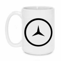 Кружка 420ml Mercedes new logo