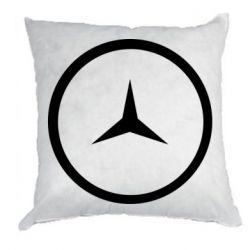 Подушка Mercedes new logo