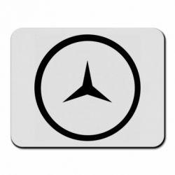 Коврик для мыши Mercedes new logo