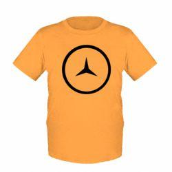 Детская футболка Mercedes new logo
