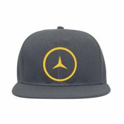 Снепбек Mercedes new logo