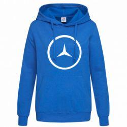 Женская толстовка Mercedes new logo