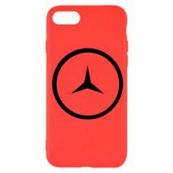 Чехол для iPhone 7 Mercedes new logo