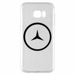 Чехол для Samsung S7 EDGE Mercedes new logo