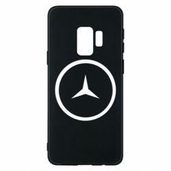 Чехол для Samsung S9 Mercedes new logo