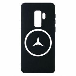 Чехол для Samsung S9+ Mercedes new logo