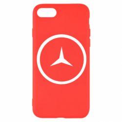 Чехол для iPhone 8 Mercedes new logo