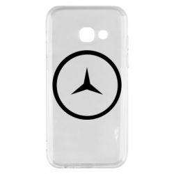 Чехол для Samsung A3 2017 Mercedes new logo