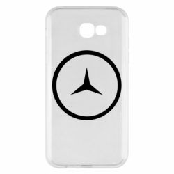 Чехол для Samsung A7 2017 Mercedes new logo