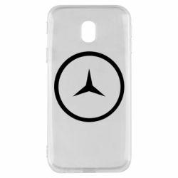Чехол для Samsung J3 2017 Mercedes new logo