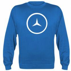Реглан (свитшот) Mercedes new logo