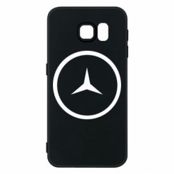 Чехол для Samsung S6 Mercedes new logo