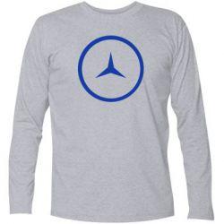 Футболка с длинным рукавом Mercedes new logo