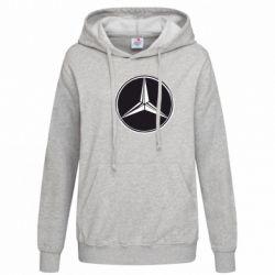Женская толстовка Mercedes - FatLine