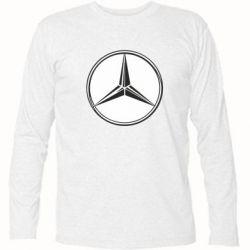 Футболка с длинным рукавом Mercedes - FatLine