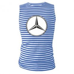 Майка-тельняшка Mercedes - FatLine