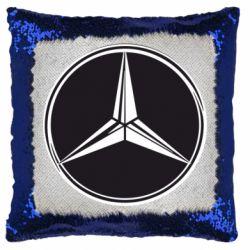 Подушка-хамелеон Mercedes
