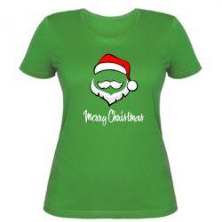 Женская футболка Merry Christmas - FatLine