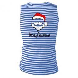 Майка-тельняшка Merry Christmas - FatLine