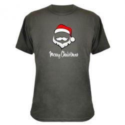 Камуфляжная футболка Merry Christmas - FatLine