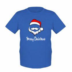 Детская футболка Merry Christmas - FatLine