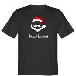 Мужская футболка Merry Christmas - FatLine