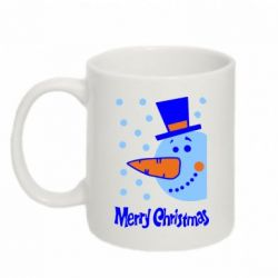 Кружка 320ml Merry Cristmas 2014 - FatLine