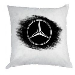 Подушка Мерседес арт, Mercedes art