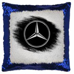 Подушка-хамелеон Мерседес арт, Mercedes art