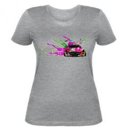 Женская футболка Мерседес арт