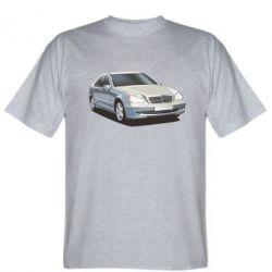 Мужская футболка Мерседес - FatLine