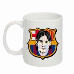Кружка 320ml Messi Barcelona