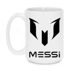 Кружка 420ml Messi logo