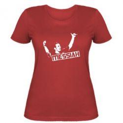 Женская футболка Messi - FatLine