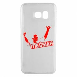 Чехол для Samsung S6 EDGE Messi