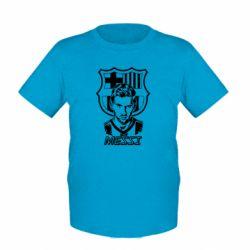 Детская футболка Messi