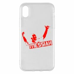 Чехол для iPhone X/Xs Messi