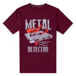 Чоловіча стрейчева футболка Metal detector