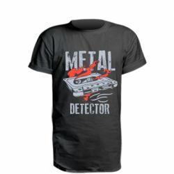 Подовжена футболка Metal detector