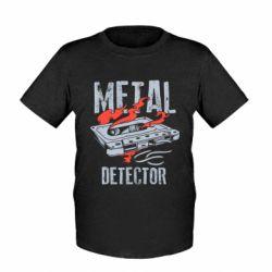 Дитяча футболка Metal detector