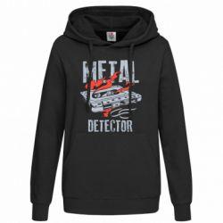 Толстовка жіноча Metal detector