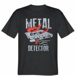 Чоловіча футболка Metal detector