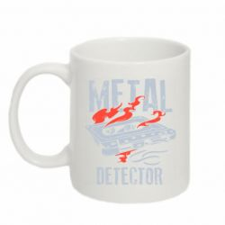 Кружка 320ml Metal detector